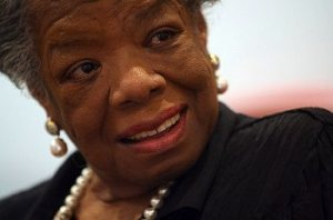 Maya Angelou opens a health center for women