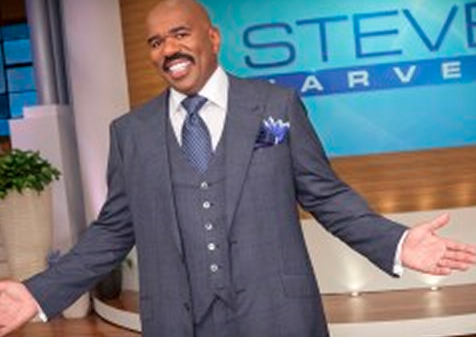 Steve Harvey Launches Daytime TV Show In a Chicago Studio