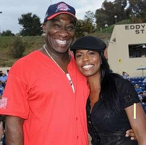 "Former ""Apprentice"" Star/Fiancee' of the Late Michael Clarke Duncan, Omarosa, Describes Duncan As The Love of Her Life"