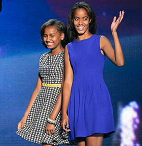 President Barack Obama, First Lady Michelle Obama, Malia and Sasha Obama, House Rules, Strict, Rigid