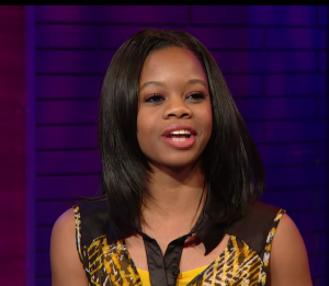 "Gabby Douglas on TJ Holmes' ""Dont Sleep"" to Discuss Her Memoir and Money."