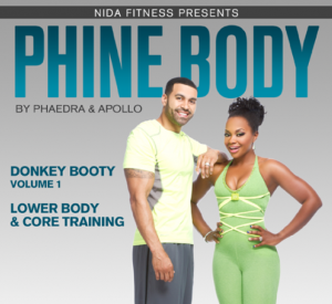 Real Housewives of Atlanta star Phaedra Parks and husband Apollo are releasing their new fitness DVD titled Phine Body on Dec. 11.