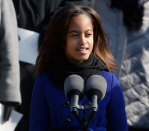 During a press conference on Valentine's Day, President Obama mentioned children growing up and dating. Many are wondering if he was hinting that Malia Obama is now dating.