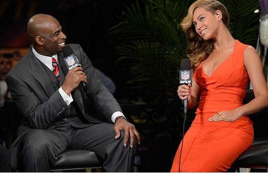 In a candid interview with Deion Sanders, Beyonce discusses her upcoming Super Bowl performance that is taking place on Sunday Feb. 3.