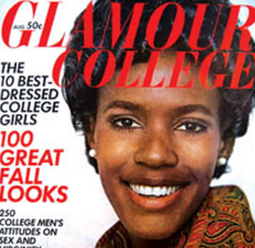 Katiti Karonde became the first African-American to grace the cover of Glamour magazine in August 1968.