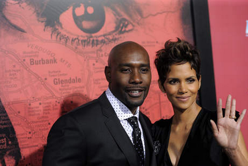 """In her upcoming film titled """"The Call,"""" Halle Berry shares passionate love scenes with Morris Chestnut. The actress says she was lucky."""