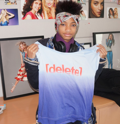 Willow Smith is working alongside Seventeen.com to push a campaign against digital bullying or online bullying.