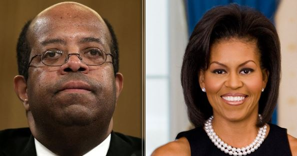 Well, then: Magazine reports that Michelle Obama once dated man in the middle of the IRS scandal