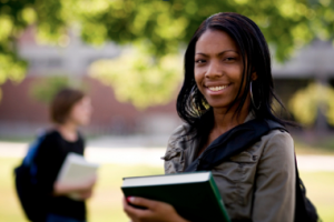 Black Women have highest enrollment for college.