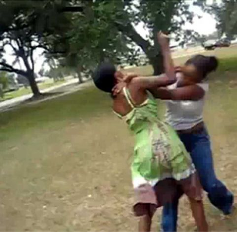fighting black girls