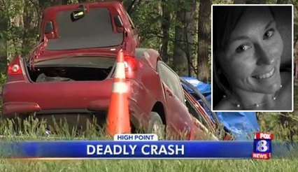 Courtney Ann Sanford died in a fiery crash after posting to Facbeook about how Pharrells song Happy made her happy. www.naturallymoi.com