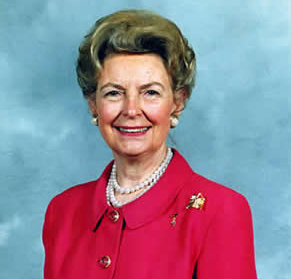 Phyllis Schlafly says the wage gap between men and women should be increased. www.naturallymoi.com