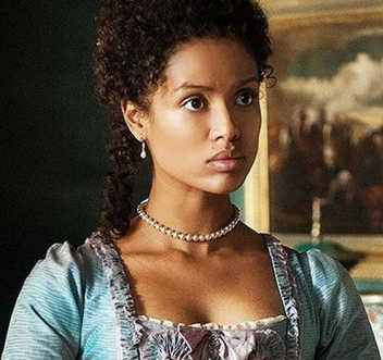 Gugu Mbatha-Raw plays the role of Dido Elizabeth Belle a biraical woman who contributed to the end of slavery in the UK. www.naturallymoi.com