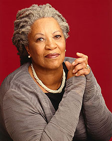 Writer Toni MOrrison is writing pieces for Chipotles cups and paper bags. www.naturallymoi.com