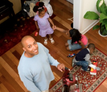 A man outlines how he was changed into a stay at home dad. www.naturalymoi.com