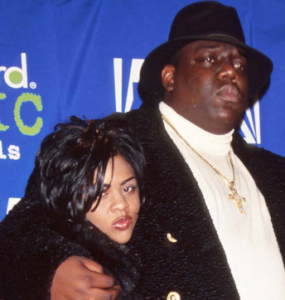 Biggie Smalls mother claims Lil Kim used her relationship with Biggie for profit. www.naturallymoi.com