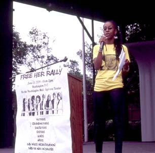 FreeHer Rally sparks to change policy for non-violent female offenders. www.naturallymoi.com