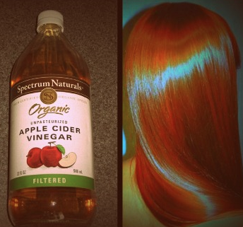 How to use Apple Cider Vinegar for beautiful hair. www.naturallymoi.com