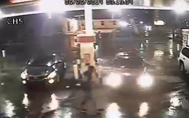 New Orleans thieves steal a vehicle containing a two year old girl in the back seat. They kicked her out of the seat and left her walking in the rain. www.naturallymoi.com