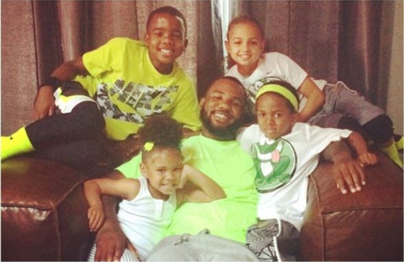Rapper The Game steps up and plays dad for a girl named Madison who does not have a stable father figure. www.naturallymoi.com