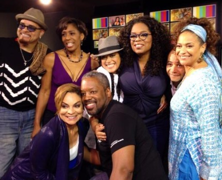 The cast members of A Different World come together on Oprahs Where Are They Now show after 20 years. www.naturallymoi.com