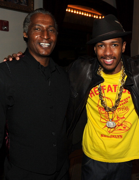 Photo of Nick Cannon & his  Father  James Cannon