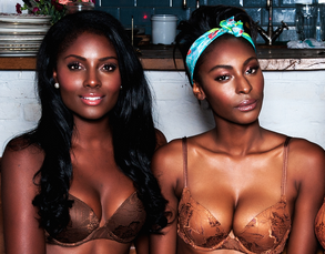 Nubian Skin is a company makes dark toned bras for women of color www.naturallymoi.com